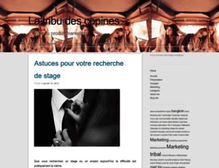 latribudescopines.wordpress.com screenshot