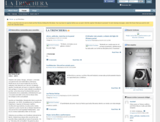 latrinchera.org screenshot