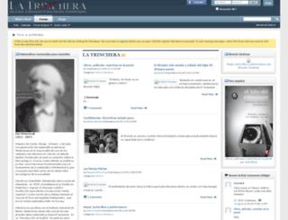 latrinchera.org screenshot