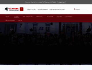 latrobe.hanu.vn screenshot