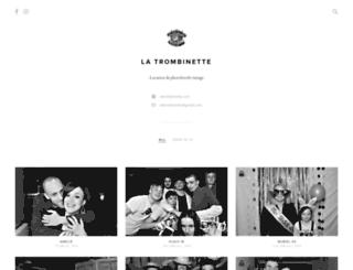 latrombinette.pixieset.com screenshot
