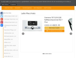 latte-macchiato.die-besten-produkte.eu screenshot