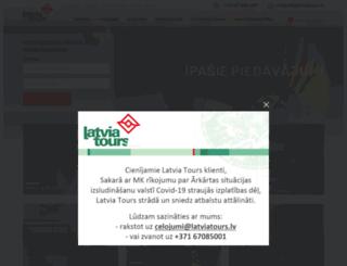 latviatours.lv screenshot
