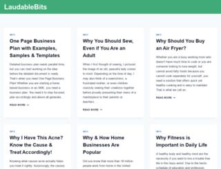 laudablebits.com screenshot