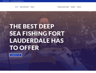 lauderdalefishing.com screenshot