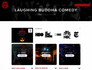 laughingbuddhacomedy.com screenshot