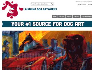 laughingdogartworks.com screenshot