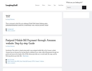laughingquill.com screenshot
