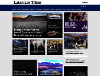 laughlintimes.com screenshot