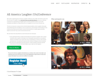 laughterconference.com screenshot