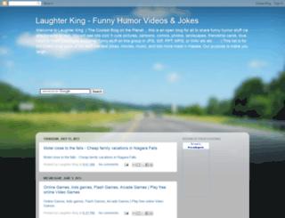 laughterking.blogspot.com screenshot