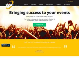 launchability.tix.com screenshot