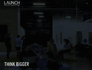 launchdigitalmarketing.com screenshot