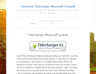 launcherminecraft.com screenshot