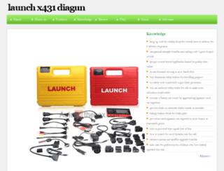 launchx431diagun.com screenshot