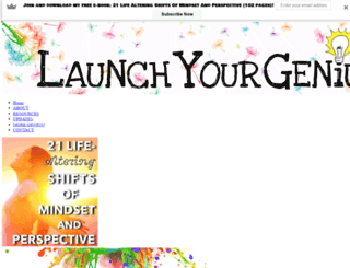 launchyourgenius.com screenshot