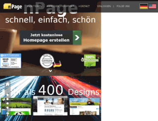 launderlandwestern.hpage.com screenshot