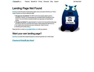 launderlandwestern.kickoffpages.com screenshot