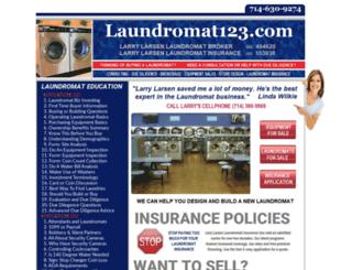 laundromat123.com screenshot