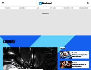 laundry.reviewed.com screenshot