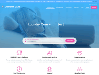 laundrycare.biz screenshot