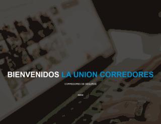launioncorredores.com screenshot