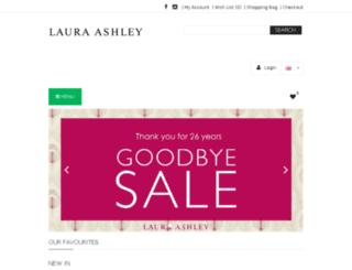 laura-ashley.com.hk screenshot