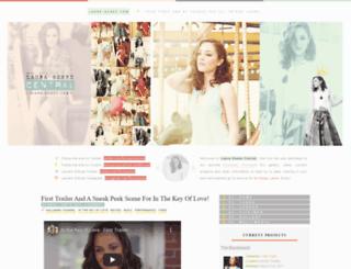 laura-osnes.com screenshot