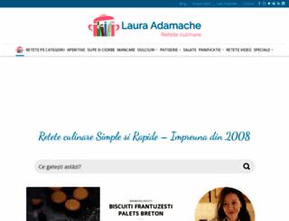lauraadamache.ro screenshot