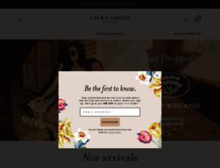 lauraashley.com screenshot
