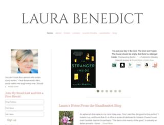 laurabenedict.com screenshot