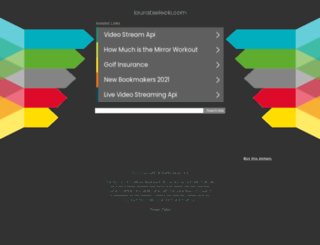 laurabielecki.com screenshot