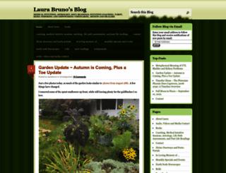laurabruno.wordpress.com screenshot
