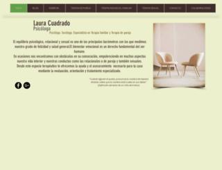 lauracuadrado.com screenshot