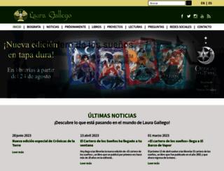 lauragallego.com screenshot