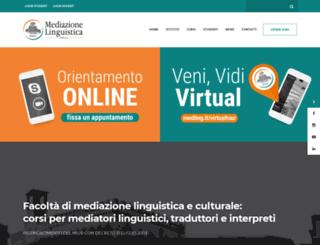 laureamediazionelinguistica.it screenshot
