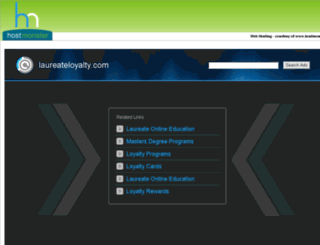 laureateloyalty.com screenshot