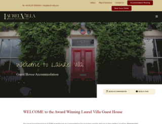 laurel-villa.com screenshot
