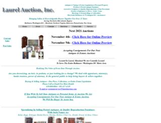 laurelauction.com screenshot