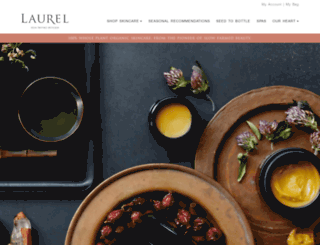 laurelskin.com screenshot