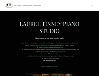 laureltinneypianostudio.com screenshot