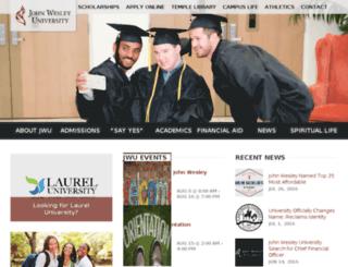 laureluniversity.edu screenshot
