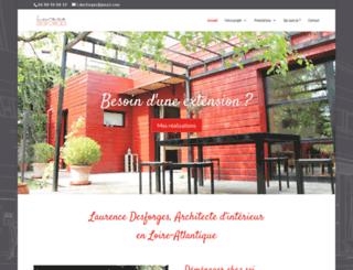 laurence-desforges.fr screenshot