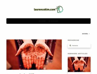 laurencekim.com screenshot