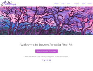 laurenforcella.com screenshot