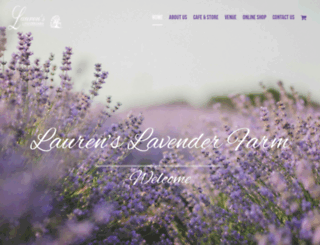 laurenslavender.com screenshot