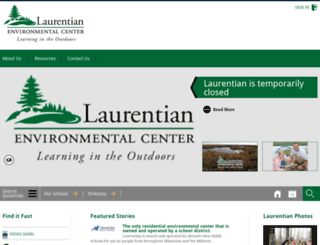 laurentian.moundsviewschools.net screenshot