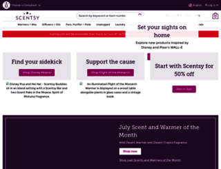 lauriebourdage.scentsy.ca screenshot