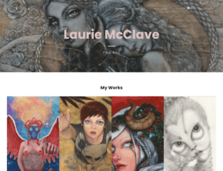 lauriemcclave.com screenshot