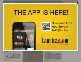 lauritzcom.dk screenshot